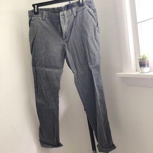 GREY GAP STRAIGHT PANTS